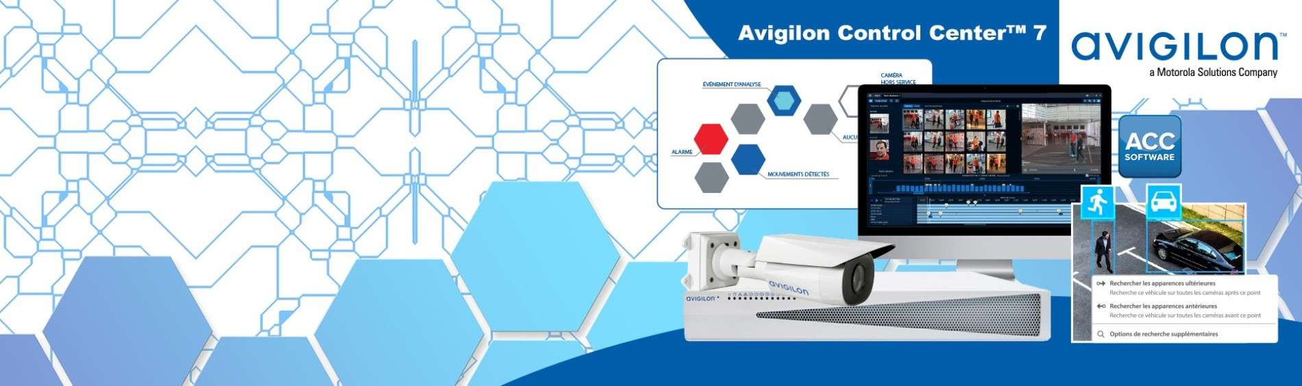 Logiciel Avigilon Control Center™ 7