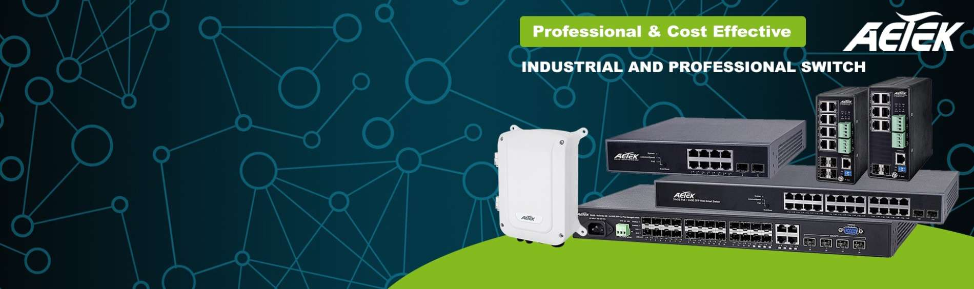 AETEK : Switchs professionnels et industriels