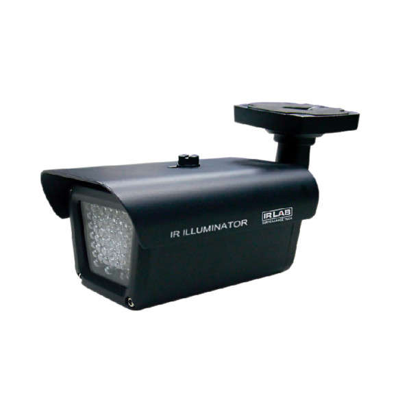 INFRA SPOT LED 55M, 60 GRADEN, OUTDOOR, 12VDC / 24VAC, IP65, -30/+40°