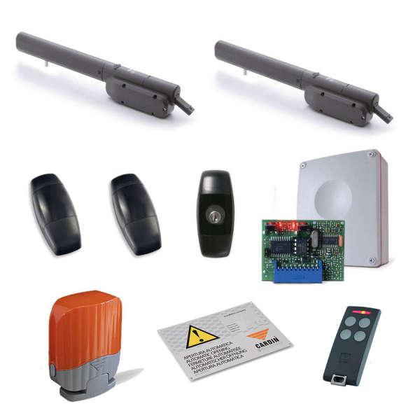 KIT 2 MOT BLASY3 +PRGT600 +RXCO +2 S504TX4 +CDR VEDO +LAMP +SIGN
