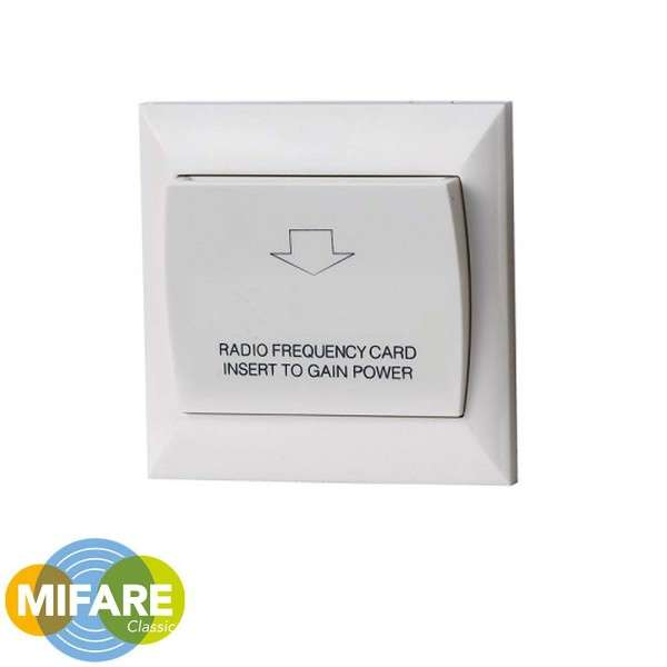 ENERGY SAVING SWITCH FOR HOTEL SYSTEMS