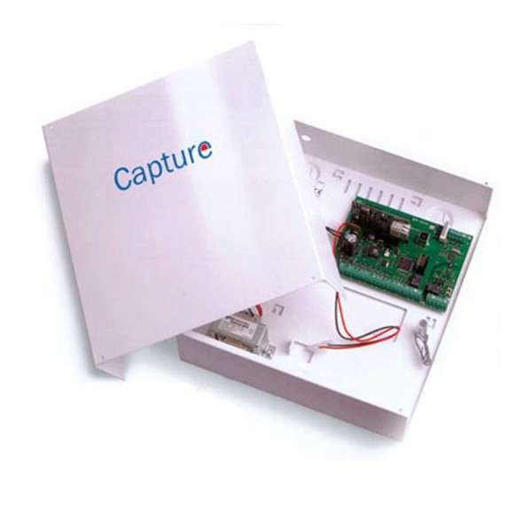 CAPTURE 8 ZONES, 3-8 OUT, 4 GRP, 64 CODES, METAL BOX 7AH, 1.2A, NL