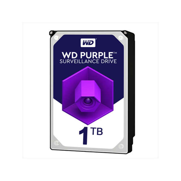 HDD 1TB VOOR DVR, WESTERN DIGITAL PURPLE, 24/7 SPECIAL VIDEOSTREAM