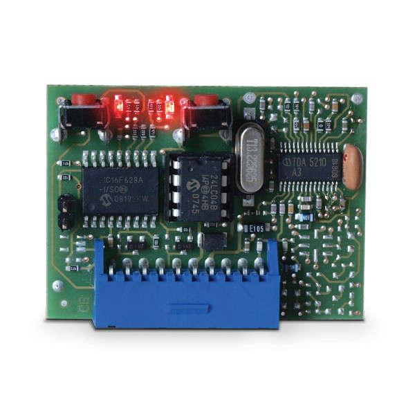 ONTVANGER INPLUGBAAR FM400 OC2, 2 OPEN COLLECTORS, 433MHZ