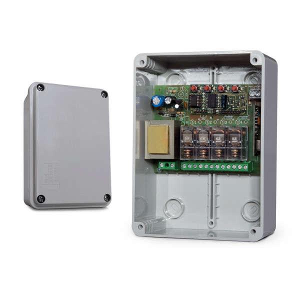 ONTVANGER FM400 4 UITGANGEN 230VAC, 5A MAX, IP55