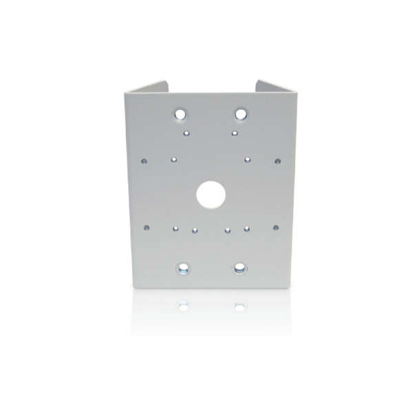POLE MOUNT ADAPTER FOR USE WITH H4A-MT-WALL1, H4-BO-JBOX1 OR HD BULLET