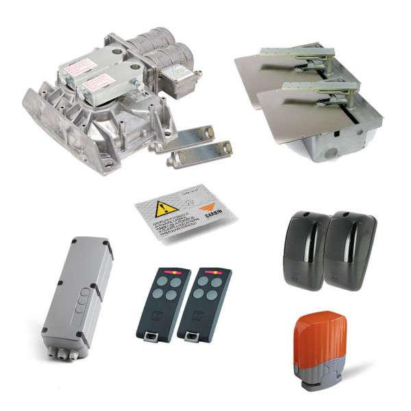 KIT 2XHL2524 24VDC ENCODER +2 BOX GALVA +PRG +RX +2 S504TX4 +CDR +LAMP
