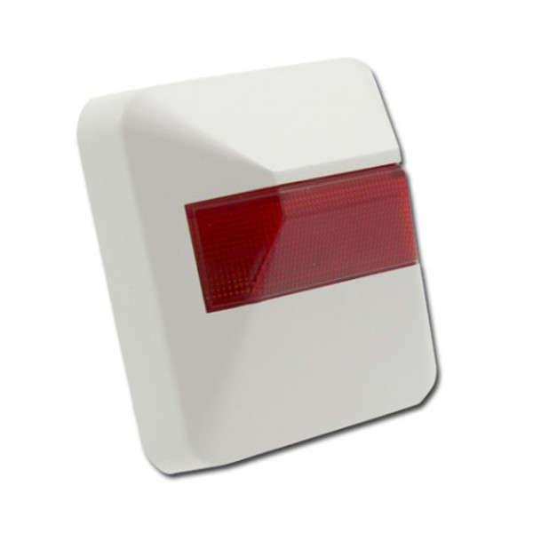 HERHAALBORD, RODE LED, 3-30VDC DOOR TOEGEVOEGDE WEERSTAND, IP40, EN54-13