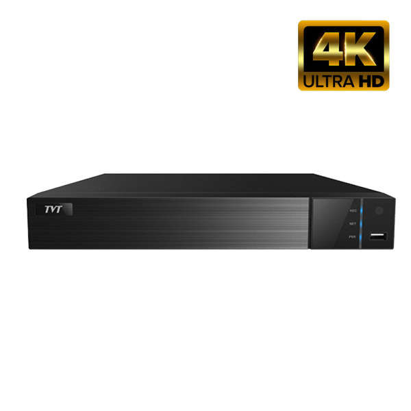 NVR IP 16CH POE,8MP@25FPS,ONVIF,4 SATA,HDMI 4K,AL 16IN-4OUT,FISHEYE+FACE