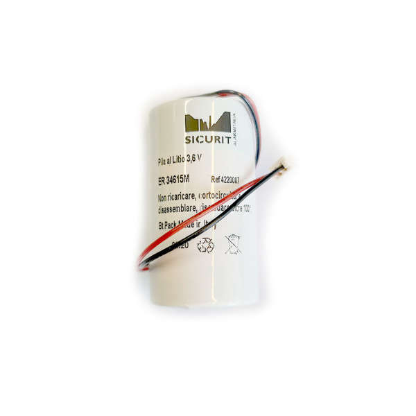 BATTERIJ LITHIUM 3.6V 13AH, VOOR MCS710 MCS720 MCS730 RP600 SR720 SR730