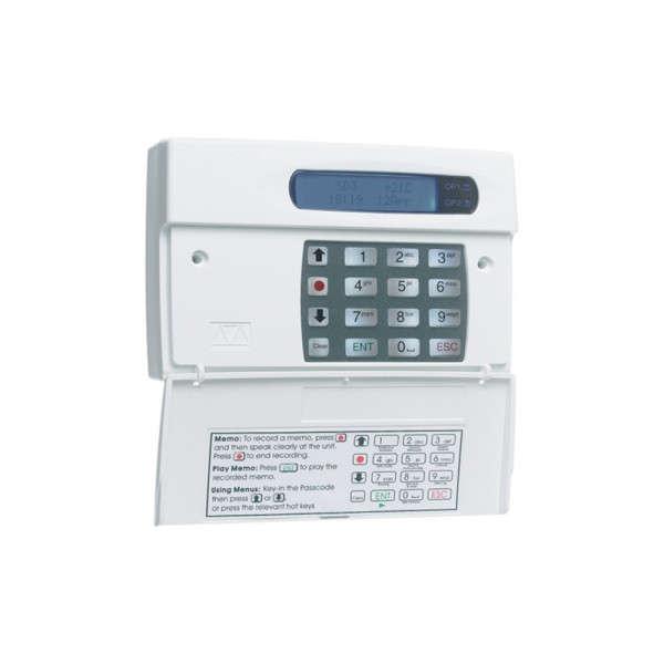 GSM KIEZER, 4IN, 2OUT, 8+1MSG, 10 TEL, TAAL INSTELBAAR