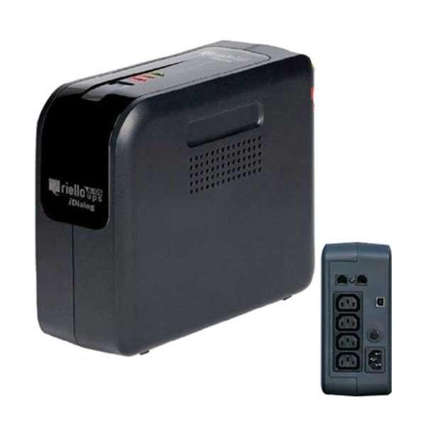UPS NOODVOEDING 230V - 480W - 800VA, USB, BLIKSEMBESCHERMING, INC.SOFT