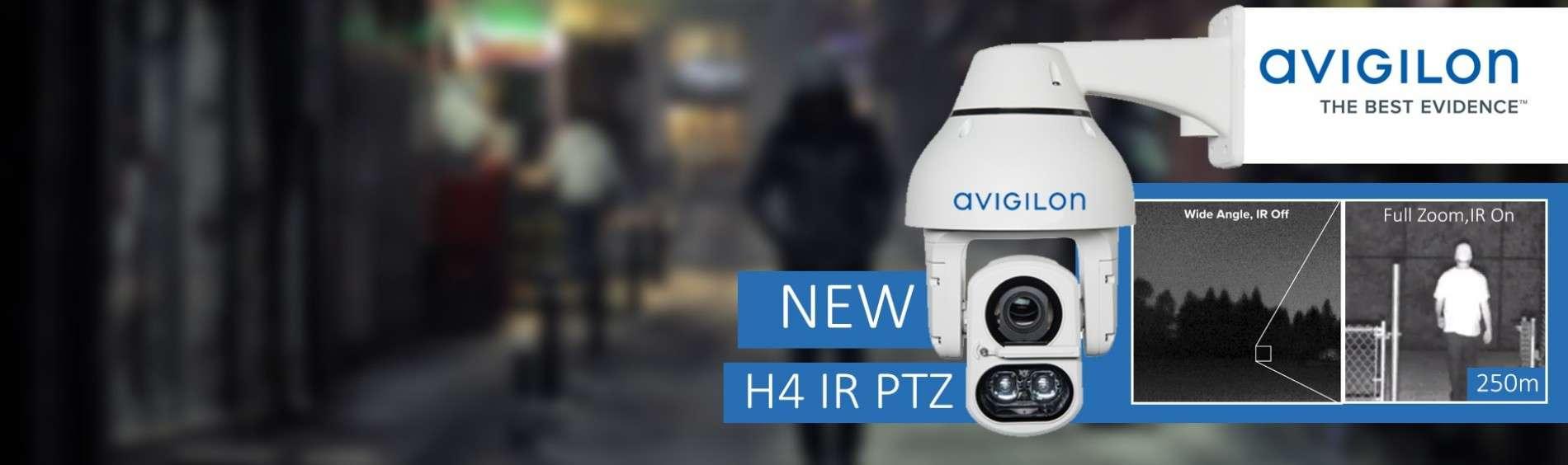Avigilon lanceert de nieuwe lijn PTZ H4 IR camera's