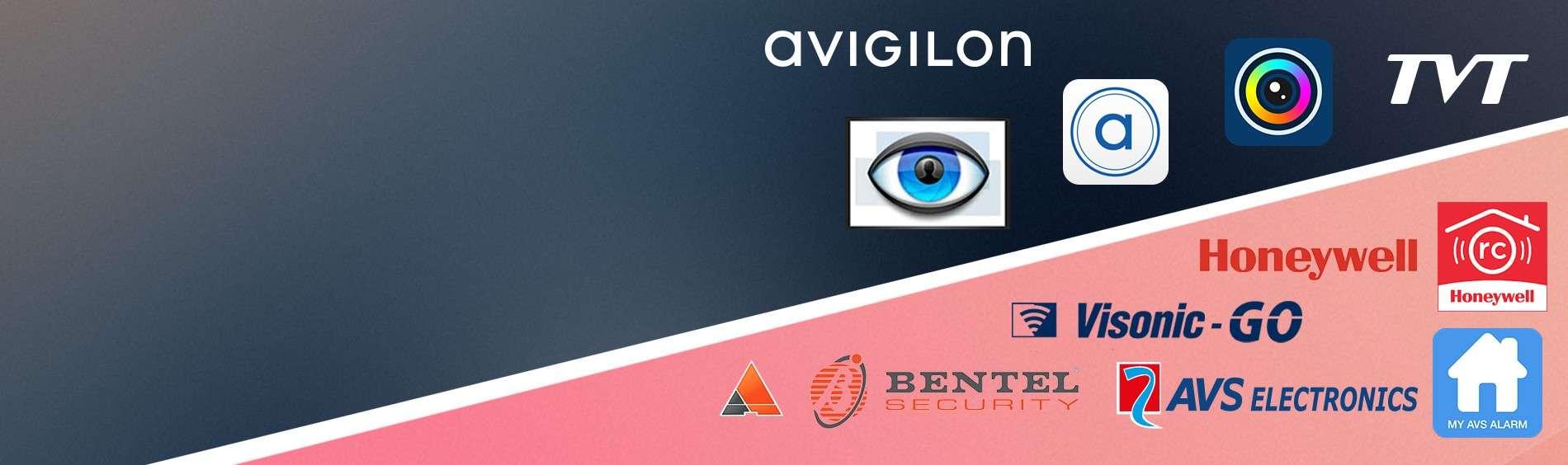 Verbindt U met onze inbraakcentrales en onze digitale opnametoestellen