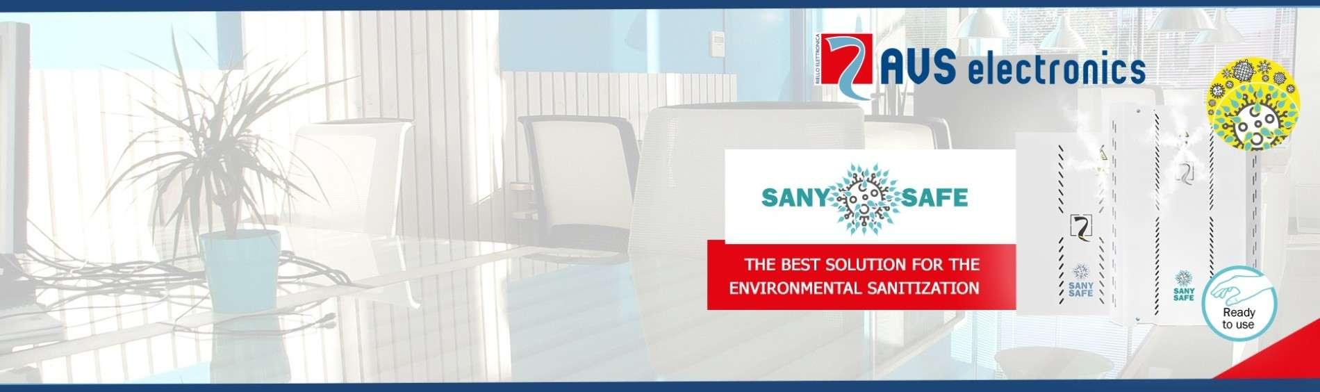 SANY SAFE: Desinfecteer uw omgeving
